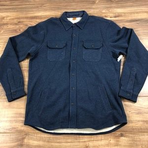 Tailor Vintage Long Sleeve Button Down Shirt L